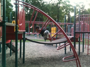 Toby vs. Playground